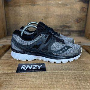 Saucony Triumph 3 LR Grey Black Athletic Shoes